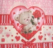 SERWETKA DO DECOUPAGE TEDDY BEAR